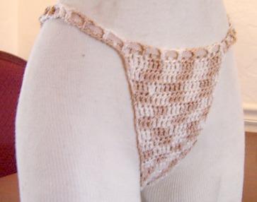 Crochet Thong.