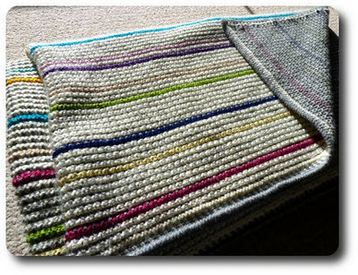 Barbara's double-ended crochet, reversible Magic Blanket is one of my favorite projects from made in k-town.  Click the picture to see all of her Magic Blanket posts.