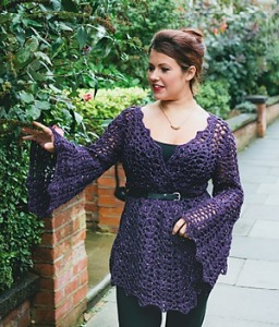 Opera Cardigan from Inside Crochet issue 36.  Image (c) Tailor Made Publishing.
