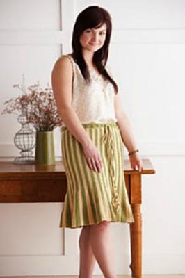 Tulip Skirt by Annette Petavy,. Image (c) Interweave Crochet.