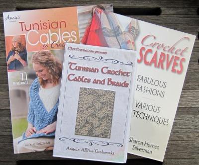 Tunisian crochet cables books