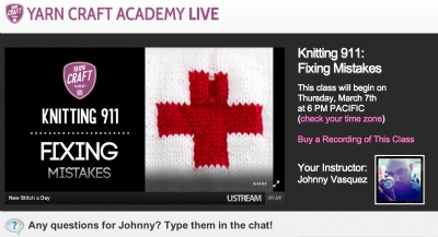 Check out Johnny's live free classes every week.