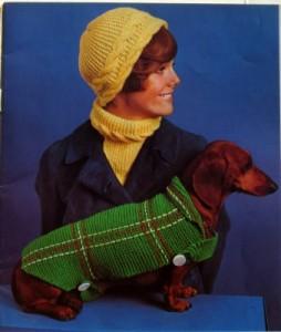 Minerva dog sweater