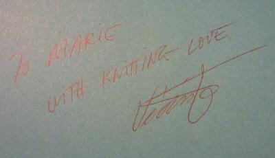 Vedis Jonsdottir signature