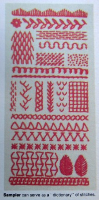 Complete Guide to Needlework 21 embroidery sampler