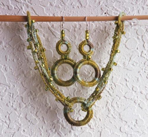 Constellation Bracelet and Earrings Denise Voie de Vie