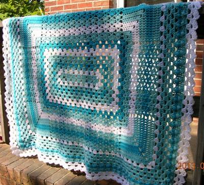 Rectangular Sampler Blanket g120luvs2crochet