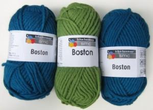 Boston Teal & Sage Green