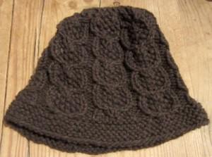 A knit hat in mYak yarn.
