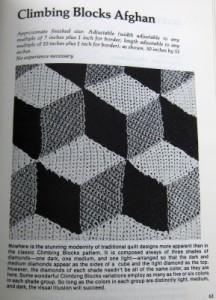 Magic Motif Crochet climbing blocks
