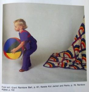 Magic Motif Crochet rainbows