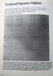 Magic Motif Crochet textured squares