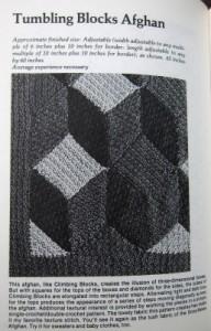 Magic Motif Crochet tumbling blocks