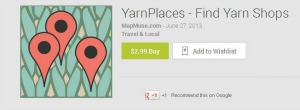 The Yarn Places Android app.