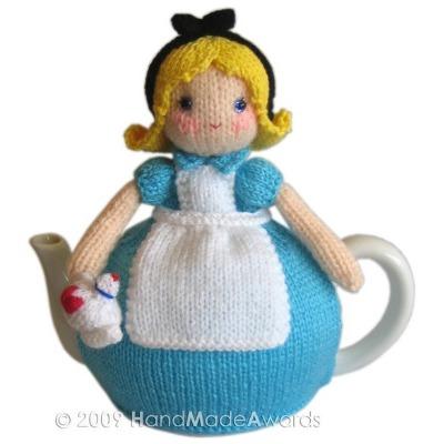 Alice in Wonderland Tea Cosy by HandMadeAwards.
