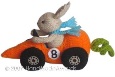Fittipaldi Car Carrot pattern by HandMadeAwards.