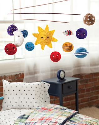 Solar System Mobile, published by Crochet Today!