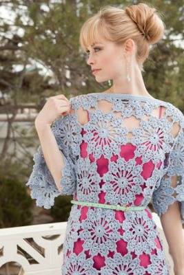 St. Tropez Tunic, published by Interweave Crochet.