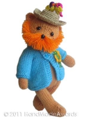 Vincent Van Gogh Teddy Bear pattern by HandMadeAwards.