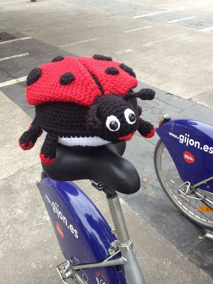 Dotty, the Ladybug full of surprises.