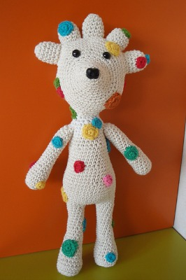 Polka Dot Funky Bear.