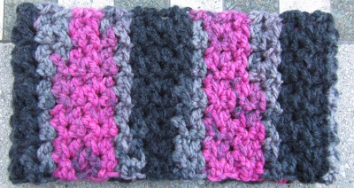 Quick, Fast in a Hurry Cowl, free crochet pattern by Underground Crafter