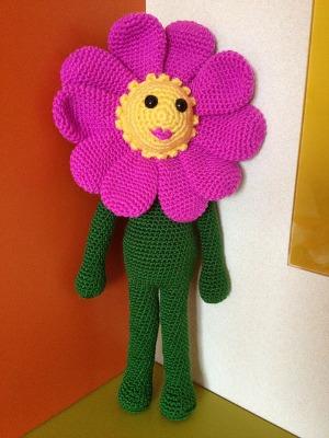 A flower toy called Rosita.