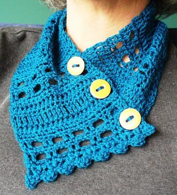 Stitch Sampler Cowl.