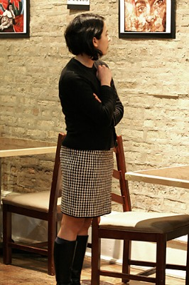 Prelude Houndstooth Skirt c Tension Magazine