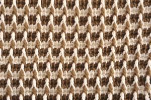 Tunisian Checkerboard Stitch (Medium)