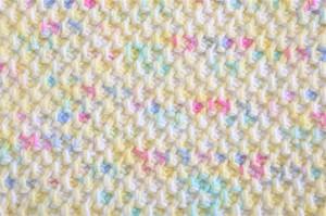 Tunisian Honeycomb Stitch.