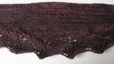 Swap shawl detail