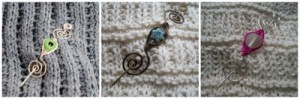 blog Michelles Assortment Shawl Pin Collage