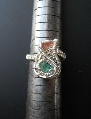 Tourmaline Aquamarine Ring
