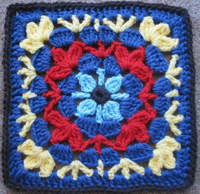 Catalina Afghan Square