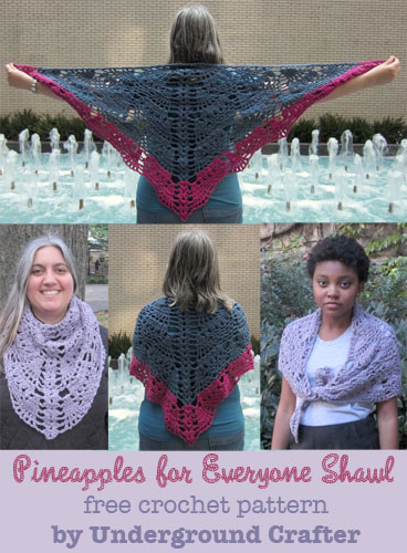 500 pix Pineapples for Everyone free pattern