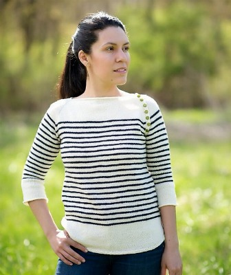 Interview with Andrea Sanchez, knitting designer and blogger, on Underground Crafter