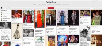 Celia Cruz Pinterest board inspiring free crochet pattern by Underground Crafter