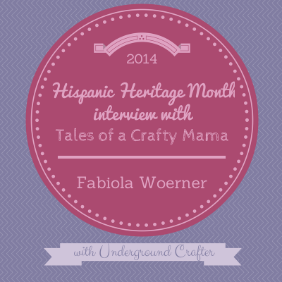 Interview with crochet and bilingual mommy blogger Fabiola Woerner on Underground Crafter