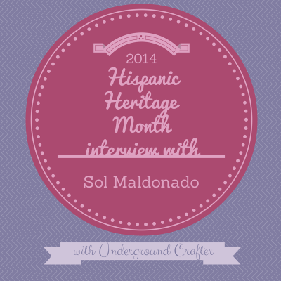 Interview with Argentine designer, Sol Maldonado, on Underground Crafter blog