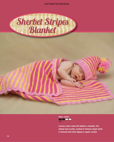 Mini interview with Sharon Silverman about her book Tunisian Crochet for Baby on Underground Crafter blog.