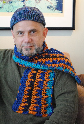 Interview with crochet/knit blogger/designer Andy Nevarez on Underground Crafter