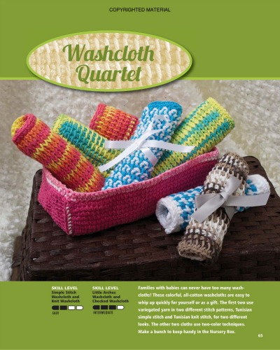 Mini interview with Sharon Silverman about her book Tunisian Crochet for Baby.