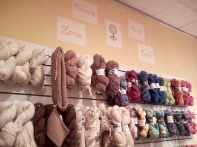 Visit to Common Thread, yarn shop in Saratoga, NY on Underground Crafter