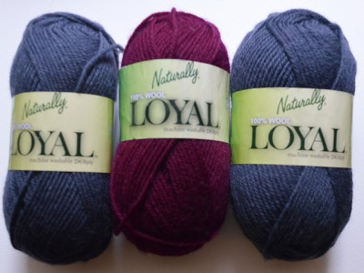 Naturally Loyal yarn on Underground Crafter blog.