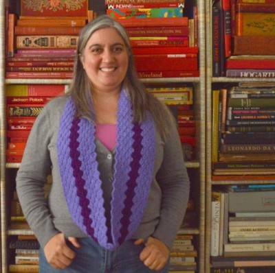 Rough Around the Edges Cowl, crochet pattern by Marie Segares/Underground Crafter