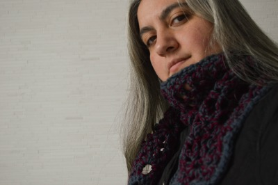 Tweedy Pineapples Scarf, free crochet pattern by Marie Segares/Underground Crafter
