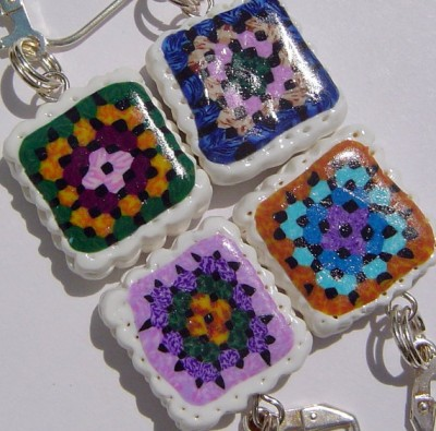 Underground Crafter's 2014 Crocheters Gift Guide - Handmade Crochet Stitchmarkers
