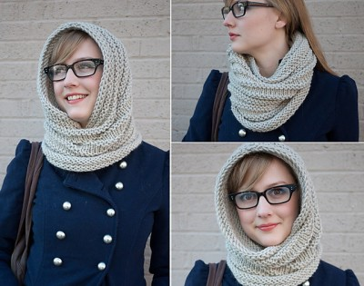 Caring Cowl by Alexis Winslow. Image (c) Alexis Winslow.
