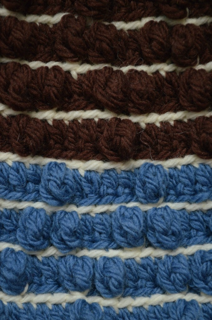 Chevrons and Stripes Slouchy Hat, free crochet pattern by Underground Crafter